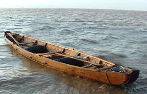 Wood rowing boat kits