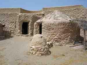 Los Millares Reconstruction, Santa Fe de Mondújar, Almeria, Andalusia, Spain