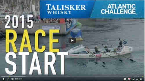 Atlantic Challenge 2015 - Race Start (2:55)