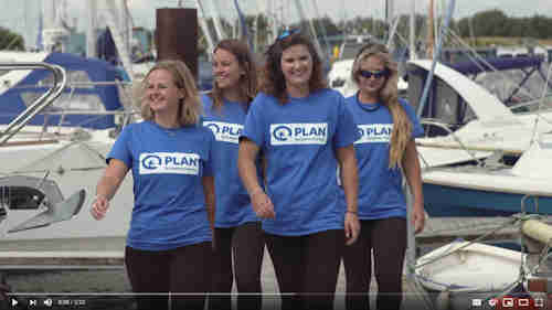The 'Row Like A Girl' Atlantic Challenge 2015 Rowing Team Pre-Race Video (2:23)